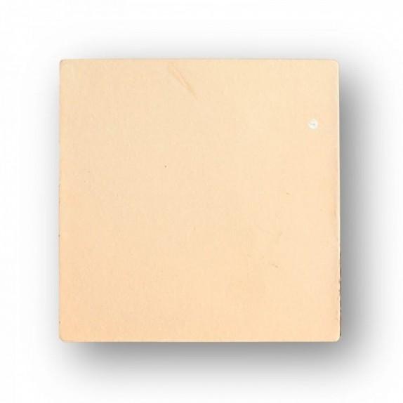 Tova de 19,5x19,5x1,8 cm aprox. semi-manual amarilla