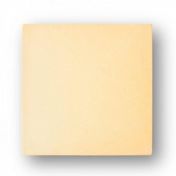 Tova de 35x35x2 cm aprox. Semi-manual amarilla