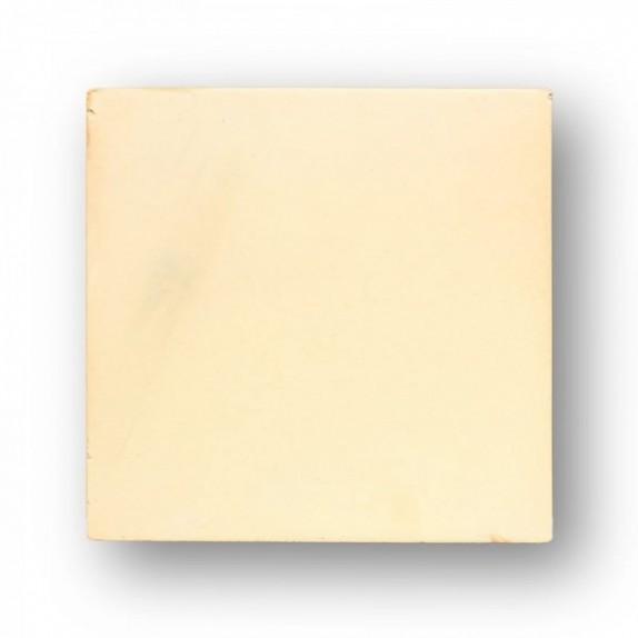 Tova de 32,5x32,5x2 cm aprox. Semi-manual amarilla