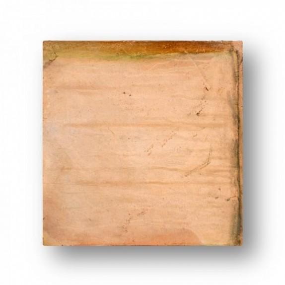 Tova de 60x60x4 cm manual GARDEN Blanca/Roja (tonalidades variables).