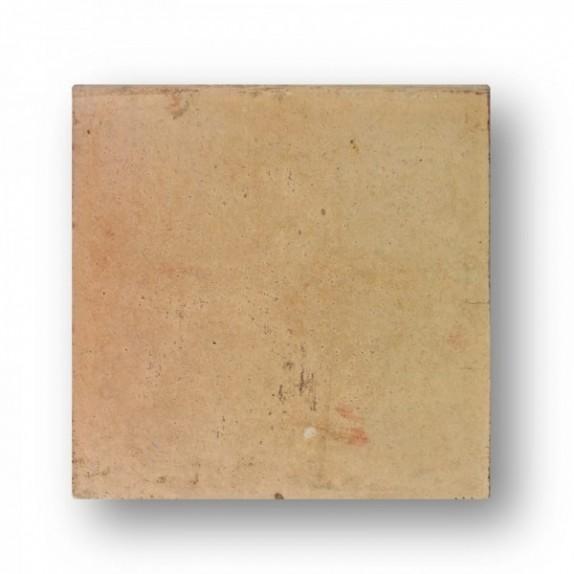 """Tova de 60x60x4 cm aprox. MANUAL GARDEN blanca/Roja """"canto romo"""" (tonalidades variables)"""