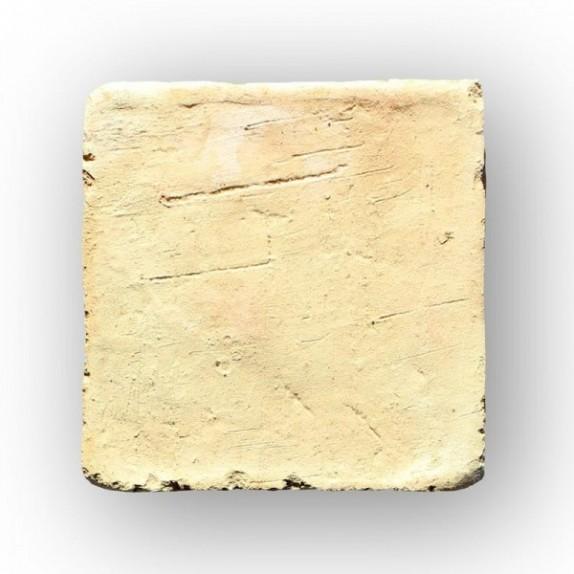 Tova de 9x9x2 cm aprox. manual amarilla