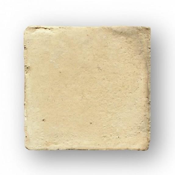 Tova de 15x15x2 cm aprox. manual amarilla