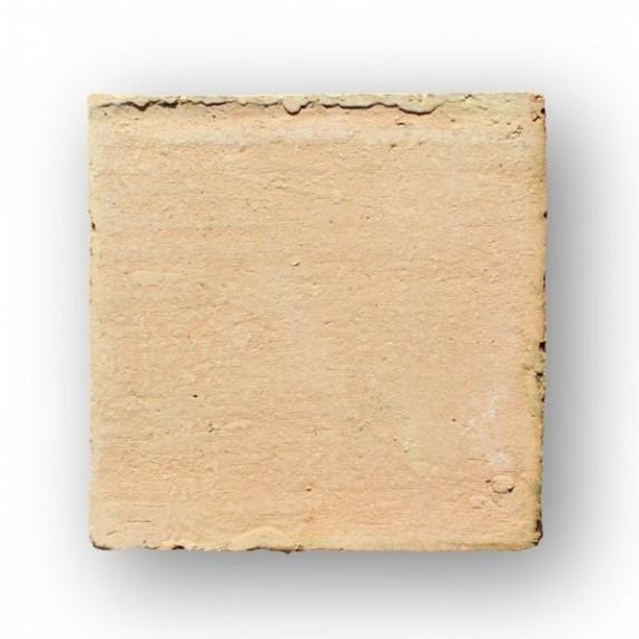 Tova de 15x15x2 cm aprox. manual rosada