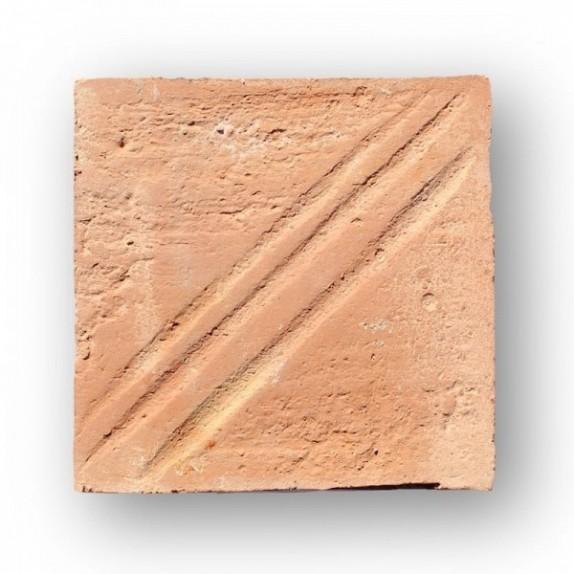 Tova de 19x19x3 cm manual DITADA roja
