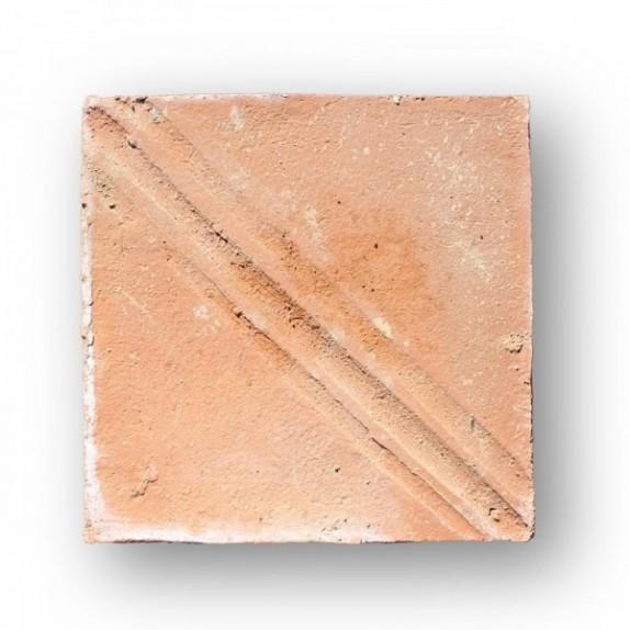 Tova de 22x22x2 cm manual DITADA roja