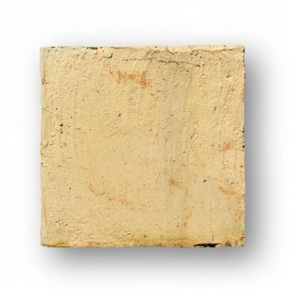 Tova de 21x21x2 cm MANO PASADA amarilla