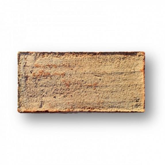 Ladrillo de 14x29x3,5 cm aprox manual rojo