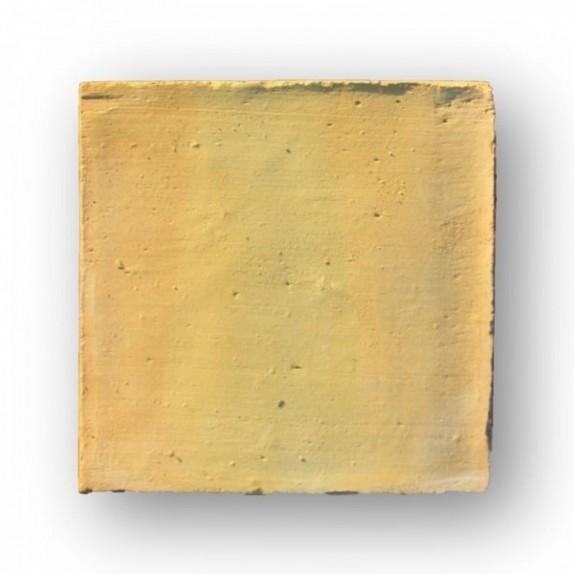 Tova de 15x15x1,2 cm aprox manual amarilla