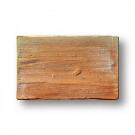 Tova de 25x39x2,5 cm aprox. Manual rosada