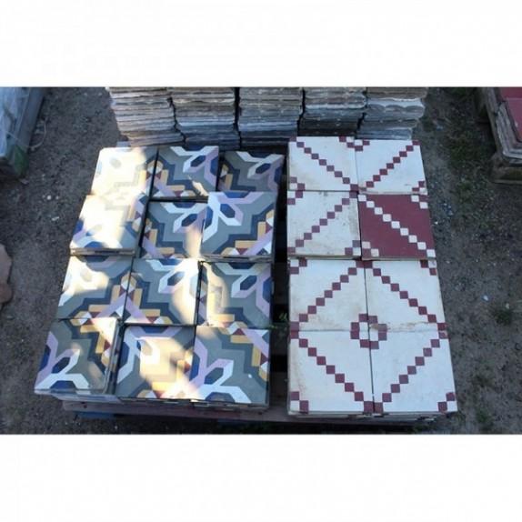 Mosaico hidráulico de recuperación