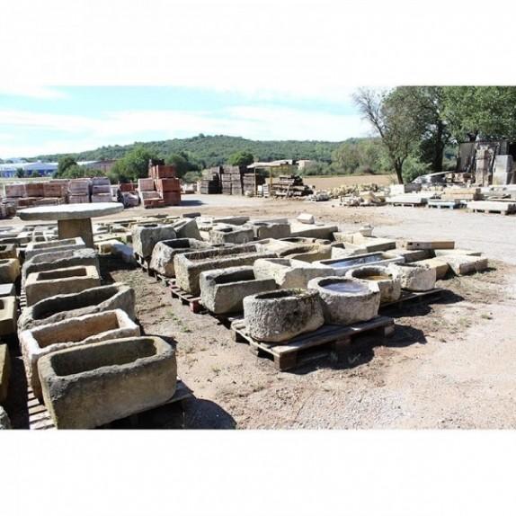 Pilas de piedra recuperada