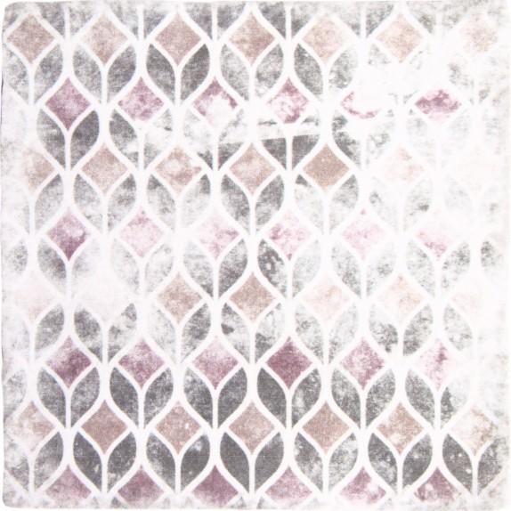 Decoradas retro blanco 15x15 cm modelo 3