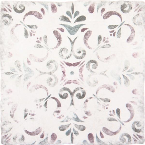 Decoradas retro blanco 15x15 cm modelo 5