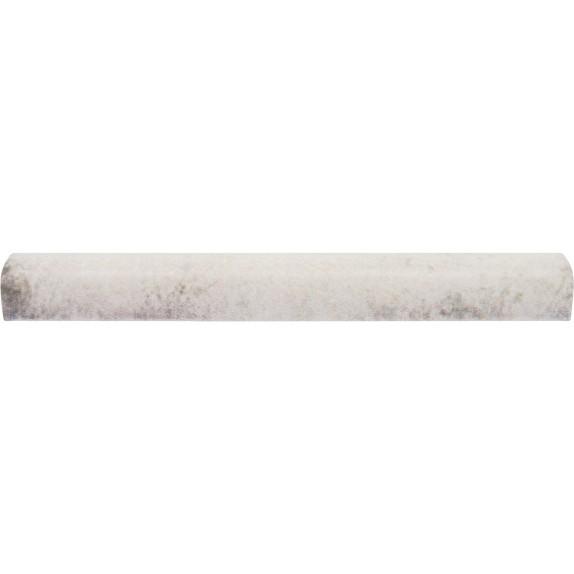 Moldura retro blanco liso 2x15 cm