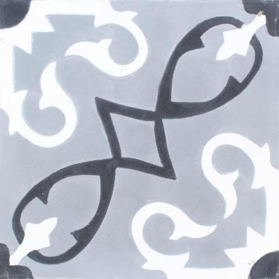 Baldosa hidráulica M-1607-E