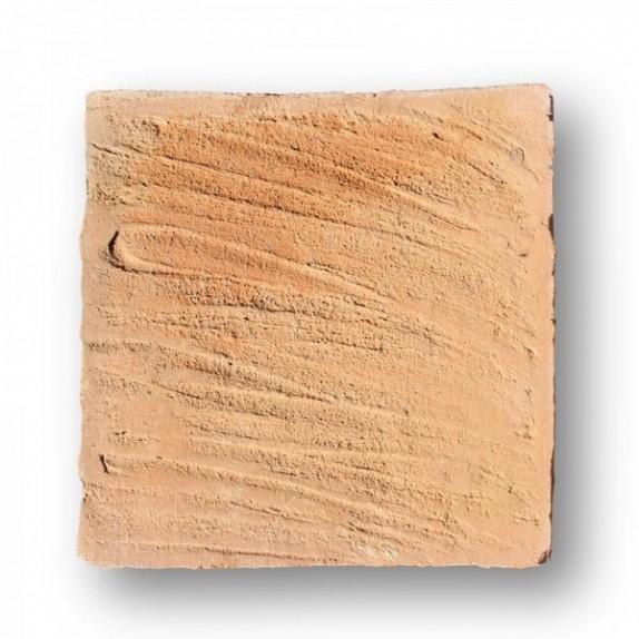 Tova de 19x19x2,2 cm manual mano pasada roja
