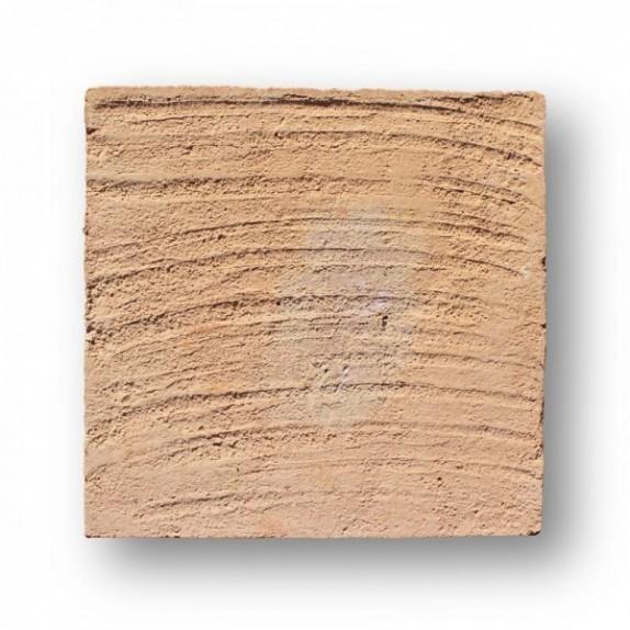 Tova de 29,5x29,5x2 cm manual mano pasada roja